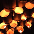 冬空~月明かり~韮山竹灯籠