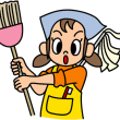 お掃除婆さん
