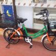セブンイレブンの配達用自転車