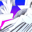 Nude-Muse-angel-Tableau-ヌード-芸術-アート-絵画:ペデュキュア