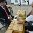 11月12日新宿将棋センターにて指導対局の風景
