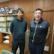 🎵 名張市立南中学校の山崎教頭先生、体育担当の西田先生、 はじめまして!