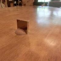 座卓からテーブルへリメイク