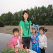 内モンゴルの子供たち