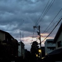 金沢の今朝の日の出時間、午前6時1分。6時を超えました。