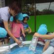うさぎ組色水遊び