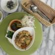 今週のマクロビオティックランチ 8/18~21は「旬野菜と自家製厚揚げの味噌炒め」!!