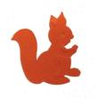 <エンボスパンチはshopWA・ON>デコップの栗鼠(りす)・ リス