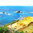 日本の渚百選「島武意海岸」