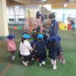 あお 3歳児 体育館下活動