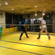 2/22OGAコーチの木曜夜選手向けキックボクシングクラス練習日記