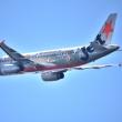 ノーザンテリトリーのPR 特別塗装機➡︎ジェットスター・アジア   9V-JAB  エアバス A320-200