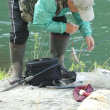 春の釣り大会(2回目)上滝のようす