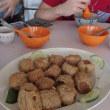 CNYの前祝だというのでマレーシア人に誘われたレストラン。行った川の辺、ローカルレストラン。
