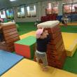 ぴんく 2歳児 体育館活動
