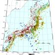 このところ頻発 秋田内陸地震と連動しているようにみえる宮城福島沖地震