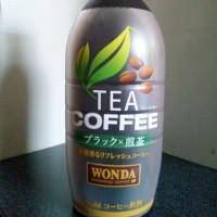 ワンダのTEA COFFEEブラック×煎茶