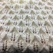 久しぶりの編み物は透かし編み