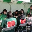上野三碑ユネスコ『世界の記憶』登録1周年記念式典で伝道活動  ―吉井町「多胡の碑」近くで充実した伝道―