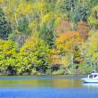 阿寒湖の秋