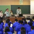 堀之内・広神中学校で「出張PR」