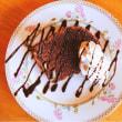 栗のココアシフォンケーキ♪