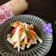 長芋とカラーピーマンのマヨソテー   #サラダのようなマヨソテー