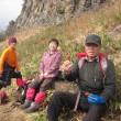 らくらく山歩会  '18 3月例会 竹田城跡と植村直己冒険館と神鍋山を歩こう