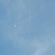 今日撮った月