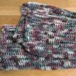 マフラーを編む その2 編み上がる