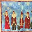 サンタクロースがいっぱい