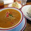 インド料理レストラン マヤァさん Bランチ マトンカリーホット&バスマティライス