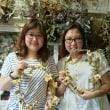 香港から布花レッスンを楽しんでいただきました
