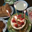 小さなケーキでクリスマス