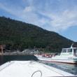 漁船タクシー利用のビワイチ (^^;