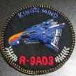 【R-TYPE】R-9AD3キングスマインドエンブレムバッヂVer.2作ってみた
