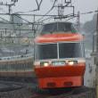 2017年10月19日 小田急 町田  LSE  7003F はこね19号 雨