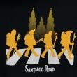 続々と巡礼者たちが到着する the Santiago Road