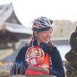 インドアバイク&アウトドアインストラクターの平野由香里さんに「箕面自転車大使」の称号を授与しました!