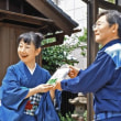 武四郎の小説贈呈 作者河治さん、松阪で出版記念