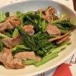 マグロごま漬け&豚肉と小松菜の炒め物&具だくさんサンド
