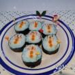 クリスマスシーズンに向けて以前からかわいい巻き寿司を提案しています。
