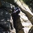 油山クライミング練習