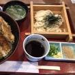 びっくり海老天丼とミニうどんセット