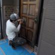 30年3月寒川町倉見で外壁屋根塗装工事始めました⑥ぬりいち(屋根塗装)