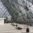 散策!札幌(25) モエレ沼公園・「ガラスのピラミッド」でパニエのおにぎりをいただく