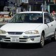 Mitsubishi Mirage Modarc 1997- レトロ調の三菱 ミラージュ モダーク
