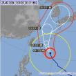 今度の台風は日本海を進みそうだな