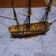 帆船模型を作る その5