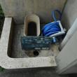 排水目皿の取り付け・・・千葉市